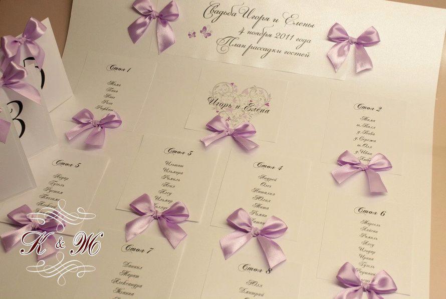 Рассадка для гостей на свадьбу своими руками