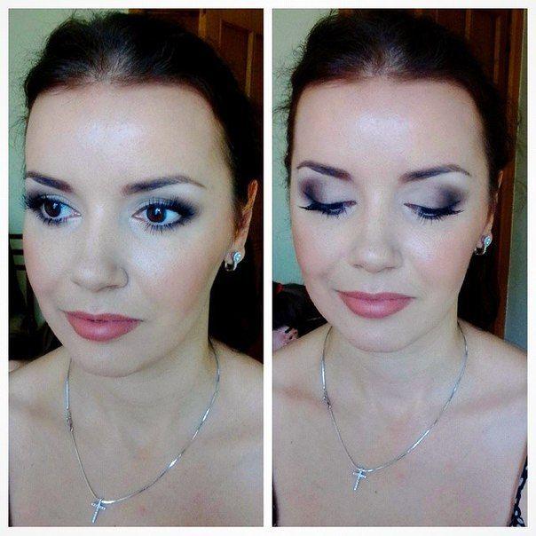 Нежный макияж невесты. Свадебный, вечерний вариант макияжа. - фото 2907233 Визажист Виктория Вишня