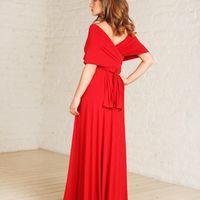 платье трансформер Eva красный