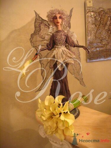 """Фото 17843 в коллекции Свадебные букеты, аксессуары - Галерея цветов """"L'Rose"""""""