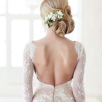 Создавали нежный образ невесты.  Красавица Ириша @irisha_kova  #Прическа: