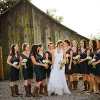 свадьба в ковбойском стиле ранчо рустик