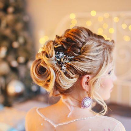 Причёска на свадьбу