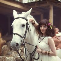 Невеста в стиле Хиппи.