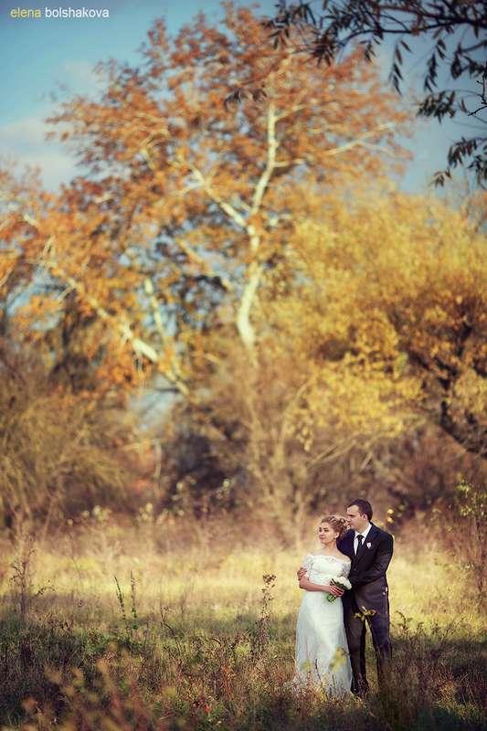 фотографии в лесу, осенние фото, красивая невеста - фото 1718979 Фотограф Елена Большакова