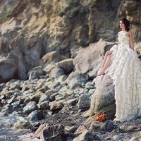 свадебное фото на Черном море