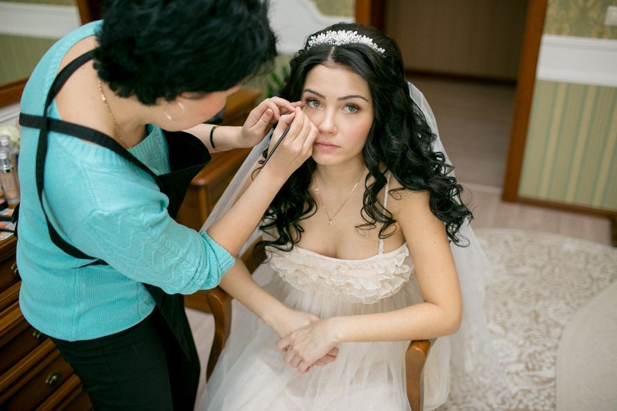 Фото 11918350 в коллекции Макияж невест - Визажист Марина Чичинина
