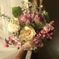 Свежий и нежный букет невесты