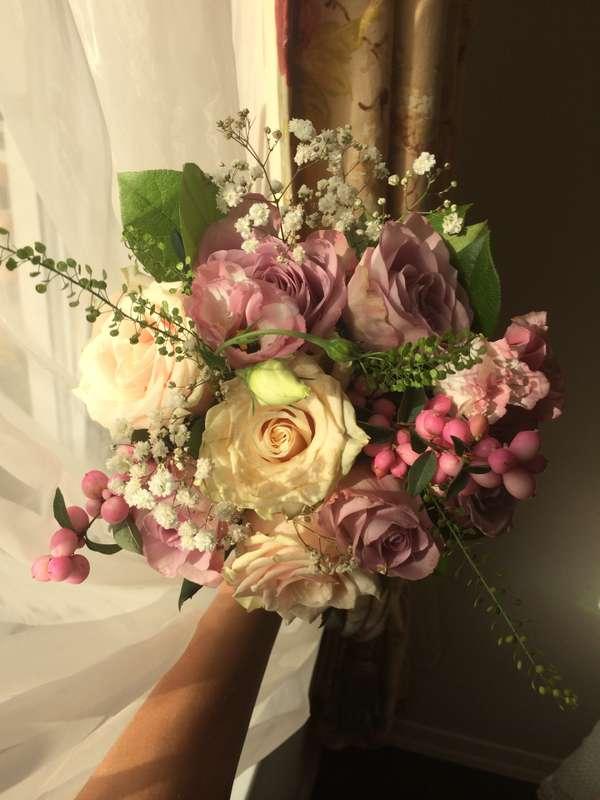 Свежий и нежный букет невесты - фото 2961359 Kalina Floral - оформление свадьбы