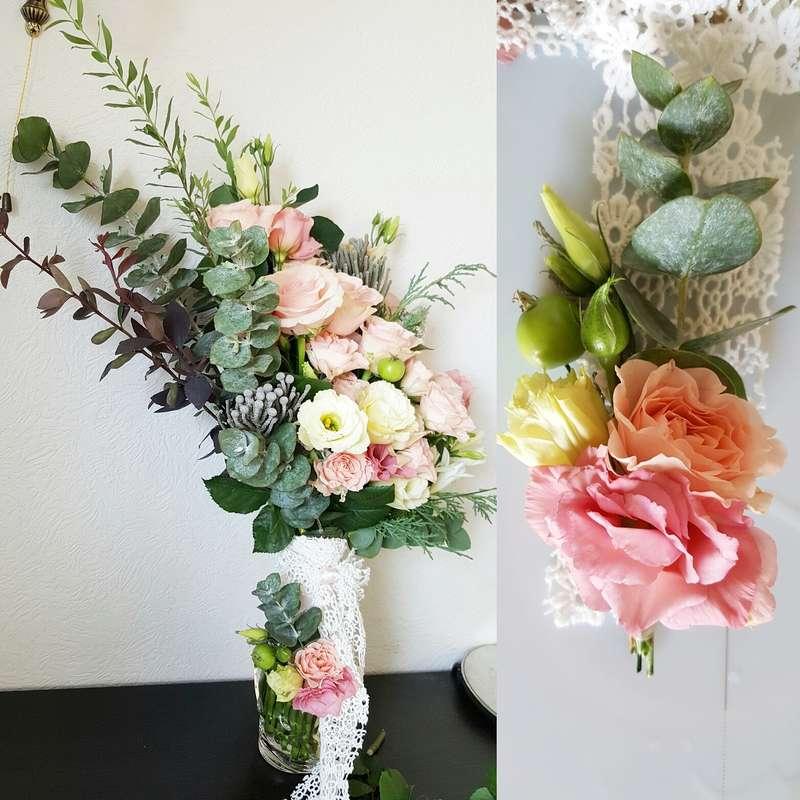 Асимметричная красота для нежной невесты - фото 11534510 Kalina Floral - оформление свадьбы