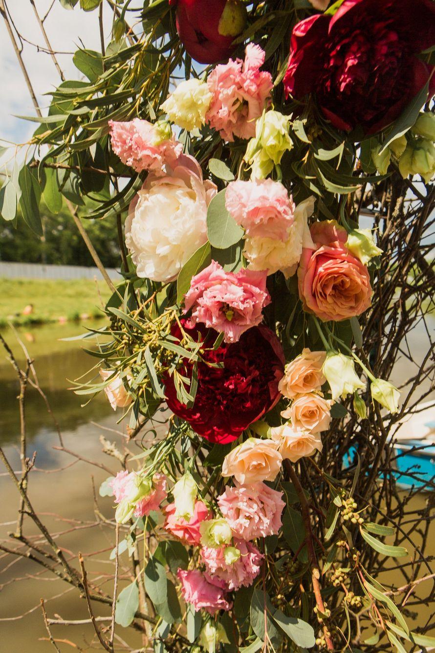 Фото 17046084 в коллекции Свадьба Антона и Екатерины 1.07.17 - Студия декора и флористики Page of love