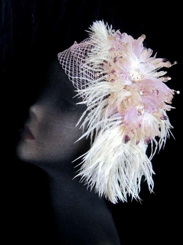 Фото 1356577 в коллекции свадебные шляпки и украшения в стиле винтаж и ретро - Авторские свадебные и вечерние шляпки от Алины Ё