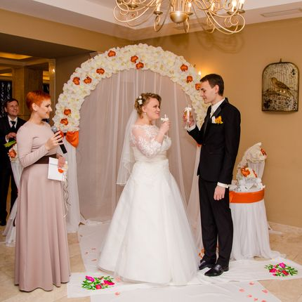 Ведущая на вашу свадебную церемонию