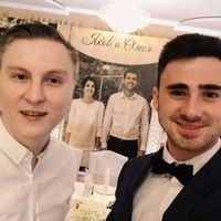 Dj Антон Спирин и Ведущий Алексанр Шабанов на свадьбе двух замечательных людей Якова и Олеси