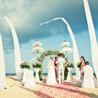 Выездная церемония на лазурном берегу