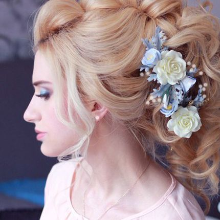Причёска для невесты