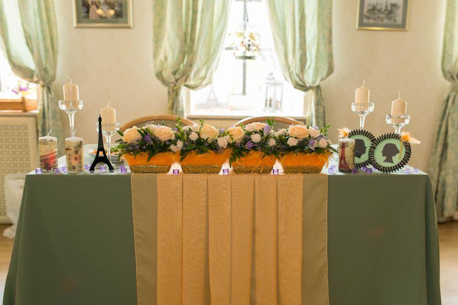Стол молодых - фото 3097989 Цветочная мастерская Екатерины Ширяевой