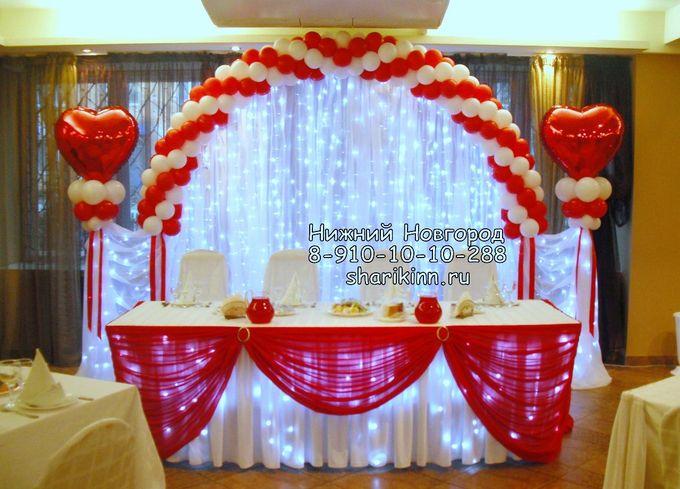 Как сделать арку для свадьбы из шаров своими руками 100