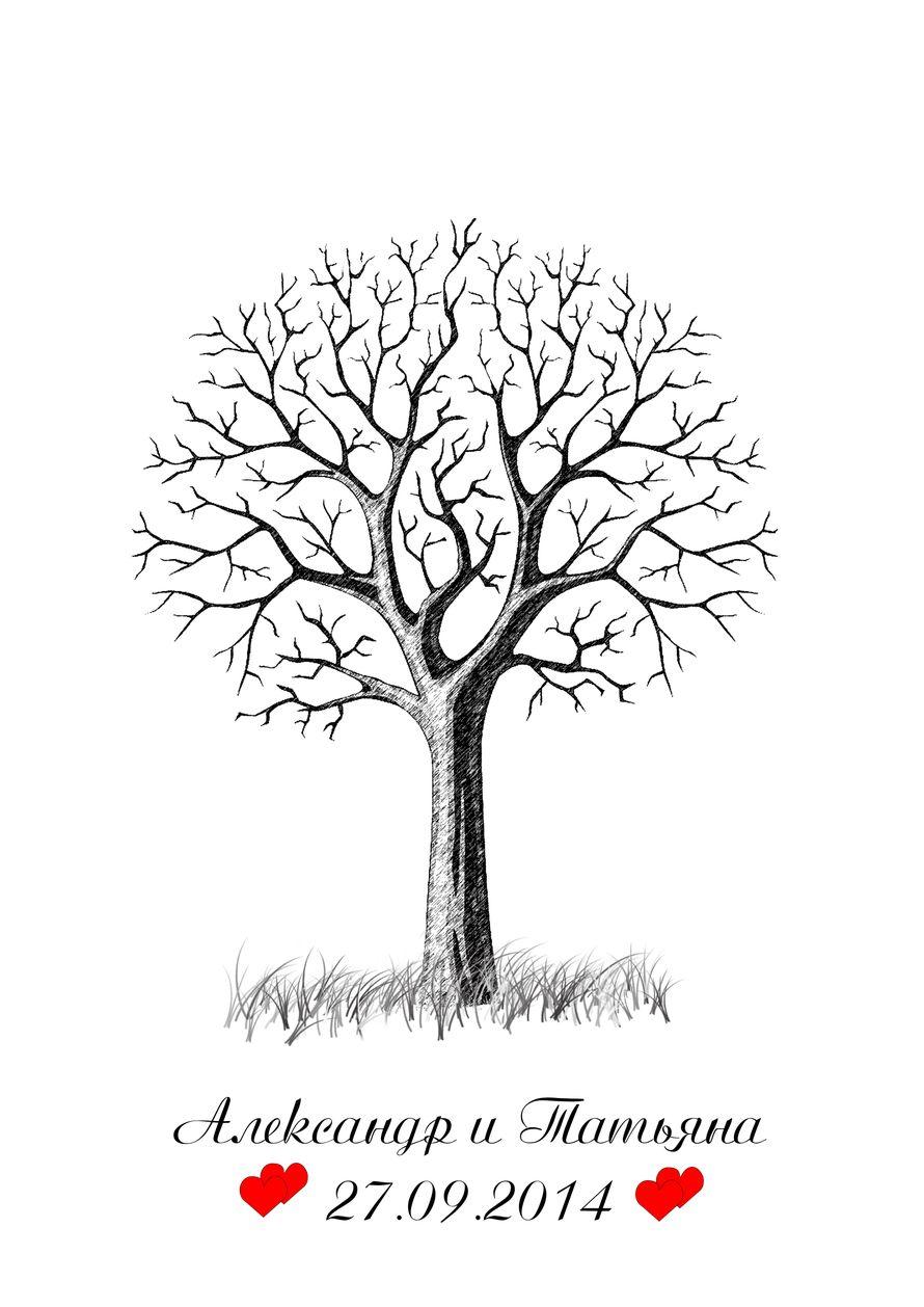 "Дерево пожеланий. Формат А3. - фото 3110069 Design-studio ""EkateRina"""