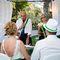 Выездная (символическая) церемония с итальянским церемониймейстером нисколько не отличается по форме от официальной версии. Более того, вы можете выбрать место, время, декорации, дополнить особым ритуалом. А в результате, никто из гостей, даже не усомнить