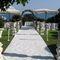 Площадка в Кастел Боргезе (Неттуно, провинция Рима ) с видом на море, где возможно проведение как выездной, так и символической церемонии.