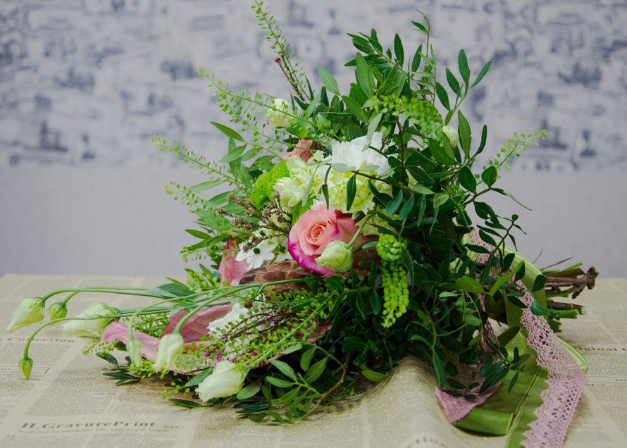 Свадебная флористика. Букет невесты - фото 3273123 Студия декора Люси Пасмурной