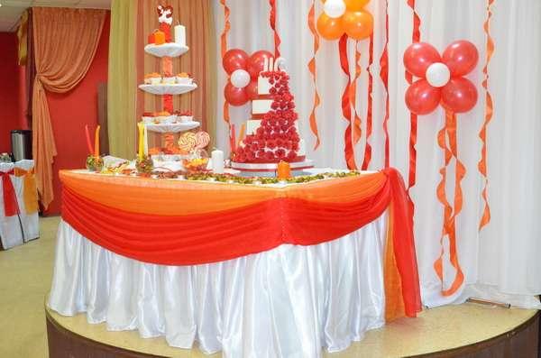 "Оформление стола под торт . Ресторан ""Русский Самовар"" - фото 3165207 SV декор"