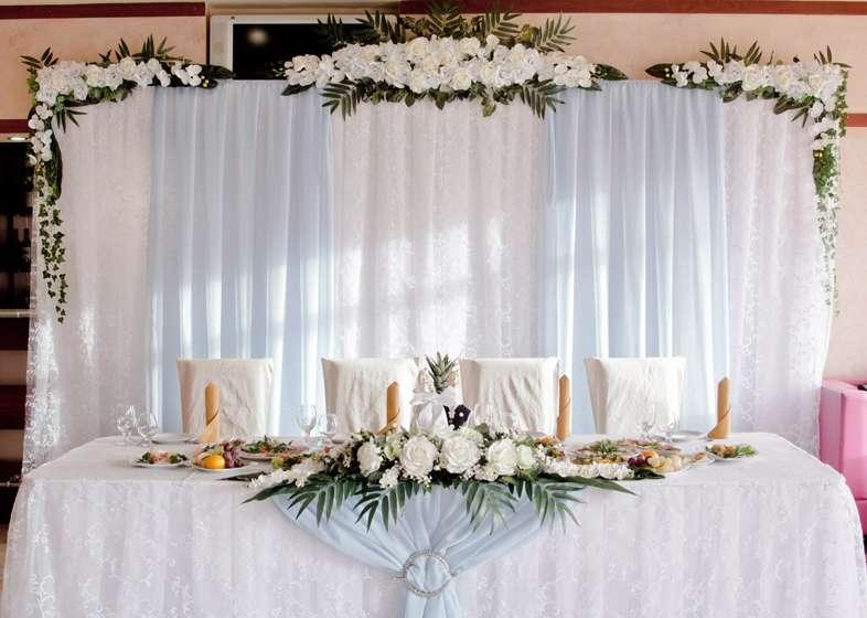 Нежное бело-голубое оформление свадьбы - фото 3174763 ЭкоDekor - декор свадеб
