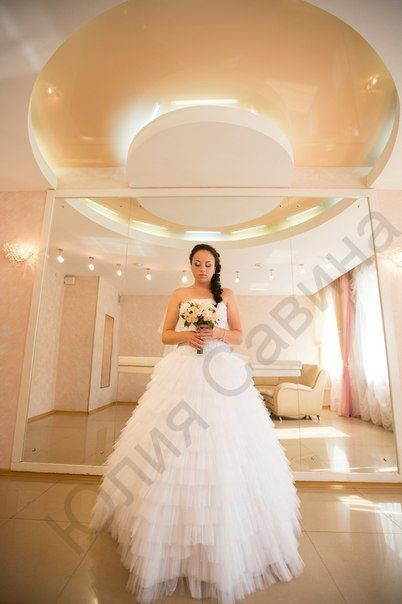 Алиночка- самая нежная невеста !!! Спасибо за Ваш выбор )) - фото 14892512 Свадебный салон Юлии Савиной