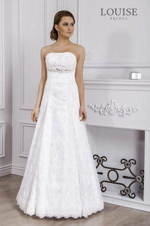 в наличии, в кремовом цвете, размеры 46-48 и 48, цена 13000р - фото 14892766 Свадебный салон Юлии Савиной