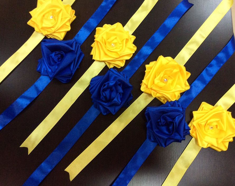 """в наличии желтый,синий на заказ - фото 15767484 Свадебный салон """" Примадонна"""""""