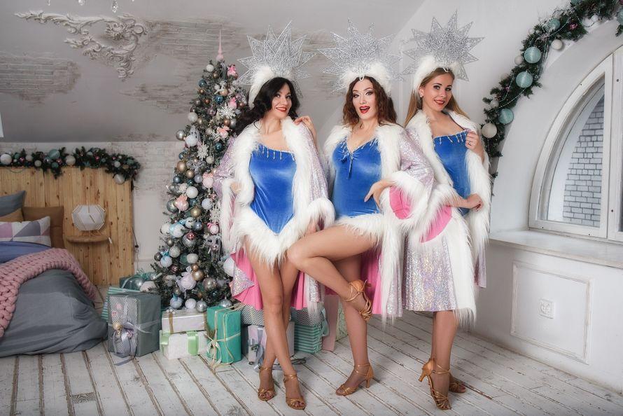 """Выступление танцовщиц """"Новогодняя программа"""""""