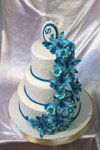 """Фото 3207345 в коллекции Мои фотографии - """"Торт с изюминкой"""" - свадебные торты"""