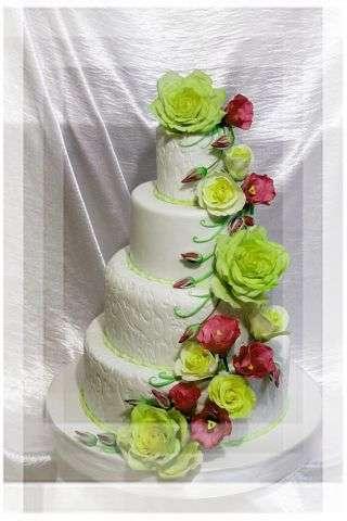 """Фото 3207347 в коллекции Мои фотографии - """"Торт с изюминкой"""" - свадебные торты"""