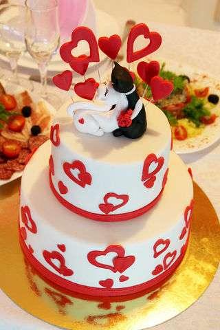 """Фото 3207363 в коллекции Мои фотографии - """"Торт с изюминкой"""" - свадебные торты"""