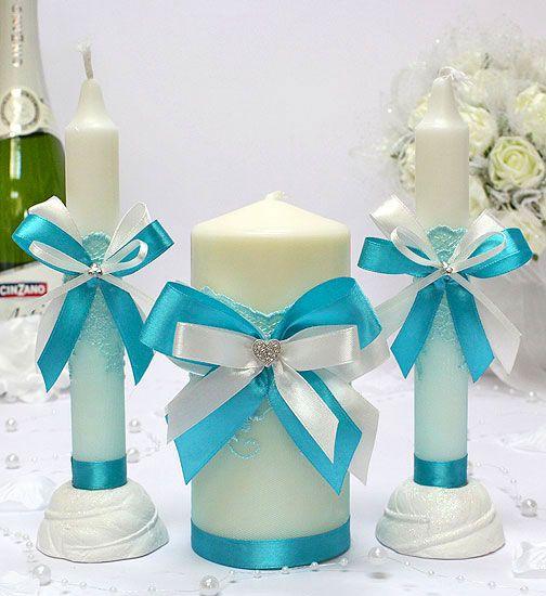 Как украсить своими руками свечи к свадьбе