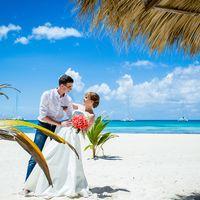 свадьба на острове Саона, Доминикана, любовь