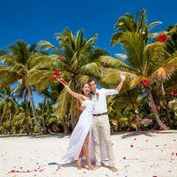 свадьба на острове Саона, Доминикана, любовь , свадьба, счастье