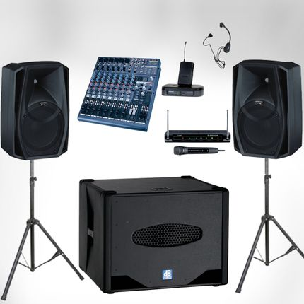 Аренда звукового оборудования 1 сутки