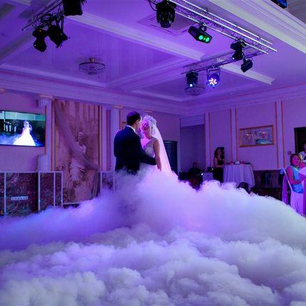 Аренда генератора дыма на свадьбу