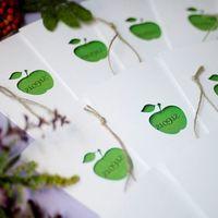Подготовка к яблочной свадьбе