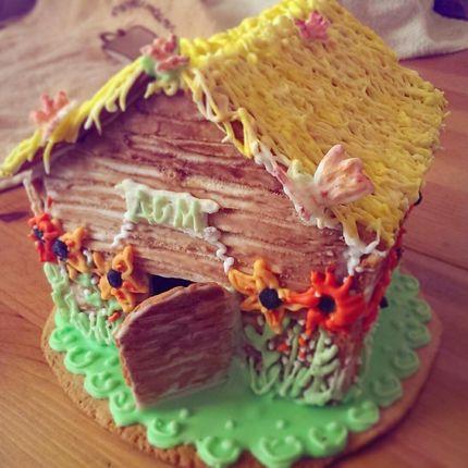 Пряничный домик ручной работы