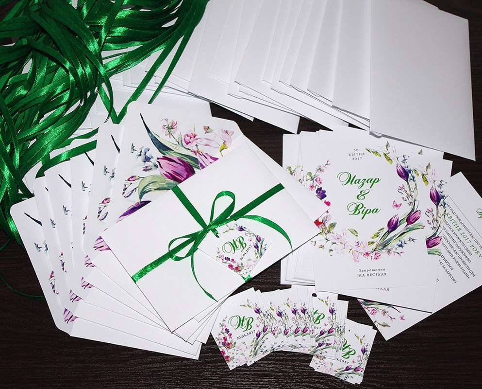 Для Назара і Віри! - фото 13254460 Пригласительные от Style wedding