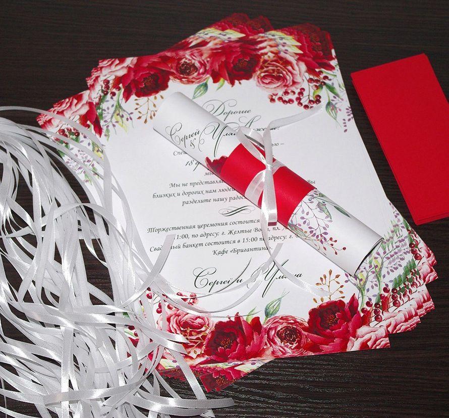 Для Сергея и Ульяны! - фото 13598184 Пригласительные от Style wedding