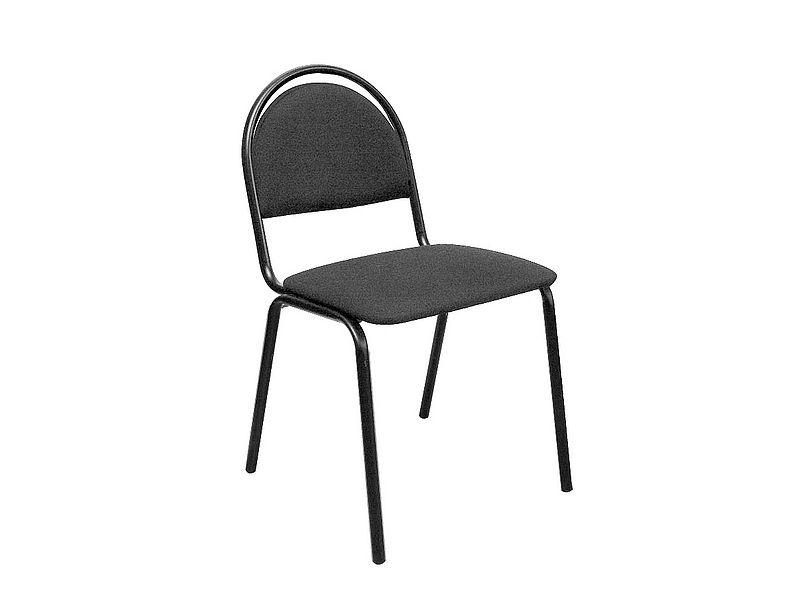 Офисный черный стул