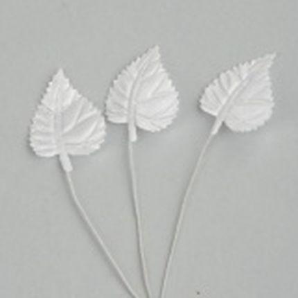 Лист липы на проволке