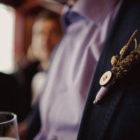 зимняя вязанная свадьба