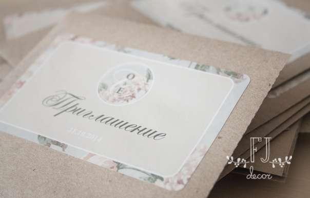 Приглашения. - фото 3652805 FJ декор - студия декора