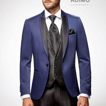 Вечерний костюм-тройка Apollon Adimo cerimonia, синий