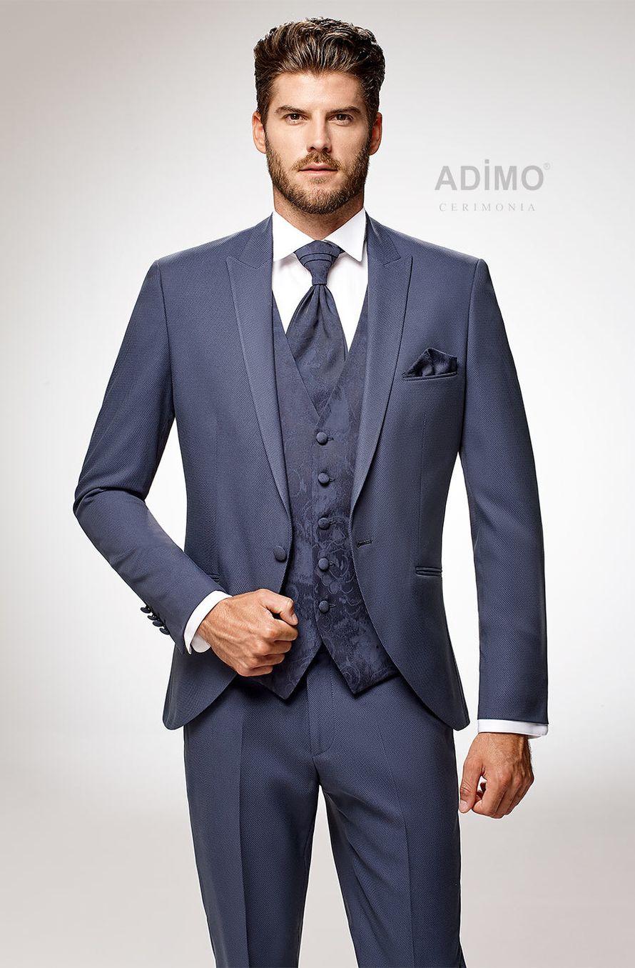 Костюм-тройка Lecce Adimo, синий